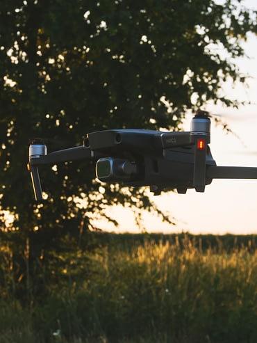 Foto einer DJI Drohne
